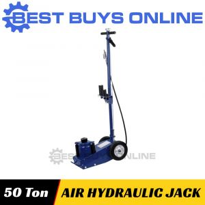 New Air Hydraulic Trolley Jack 50 Ton Truck Cars SUV 4x4 Lift