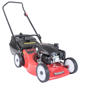 "Push Lawn Mower 18"" 46cm Masport S18 Cut Catch Mulch Petrol Powered 139cc 4 Stroke Engine"