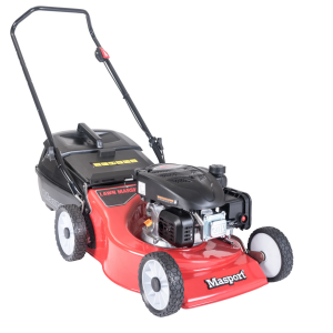 "Push Lawn Mower 18"" 46cm Masport S18 Petrol Powered AL-KO 123cc 4 Stroke Engine"