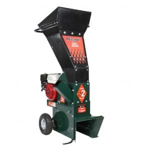 Wood Chipper Shredder Petrol 6HP Briggs & Stratton Engine Masport BIO2021
