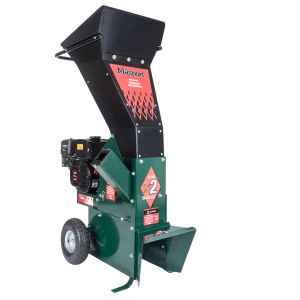 Masport Wood Chipper Shredder 196cc Petrol Powered Portable with Wheels