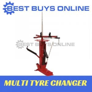 Multi Tyre Changer Bead Breaker Heavy Duty Tire Changing for Car, ATV, Motorbike