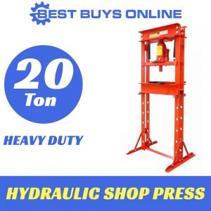 HYDRAULIC SHOP PRESS 20 Ton Heavy Duty