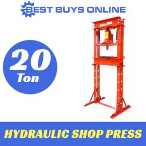 20 TON SHOP PRESS Air Hydraulic Operated H-Frame