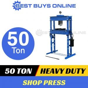 HYDRAULIC SHOP PRESS 50 TON Heavy Duty Steel