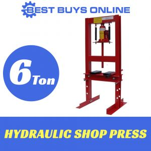 HYDRAULIC SHOP PRESS 6 TON