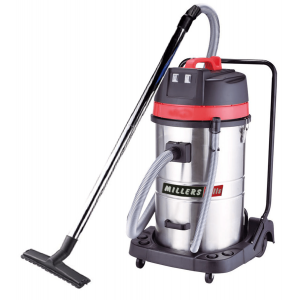 WET & DRY VACUUM CLEANER 70L Superior 7.2m Cable Length for Commercial Drywall