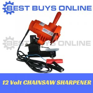 Portable Chainsaw Sharpener Electric 12 Volt Grinder
