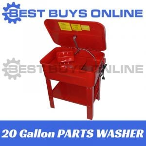 PARTS WASHER 90 Litres 20 Gallon on stand, Fully Sealed Magnetic pump 240V Electric