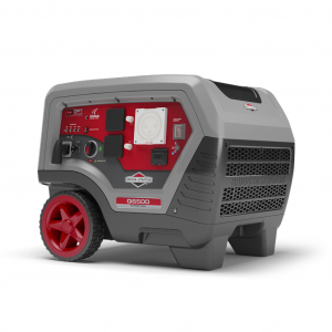 Inverter Generator 6.5 kVA by Briggs & Stratton Q6500 Quiet Power for Camping Caravan