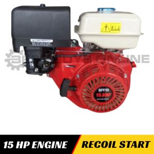 15 HP PETROL ENGINE Recoil Start OHV for Mower, Trencher, Chipper, Log Splitter