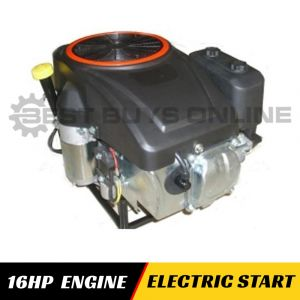 16 HP Vertical Shaft Engine Electric Start Millers Falls brand to replace ride-on mower motor