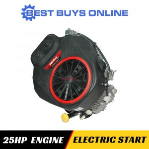 25 HP Electric Start Vertical Shaft Engine