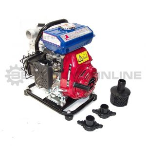 "1.5"" Water Transfer Pump 1.5 inch Portable High Flow Lightweight 2.9 HP Petrol"