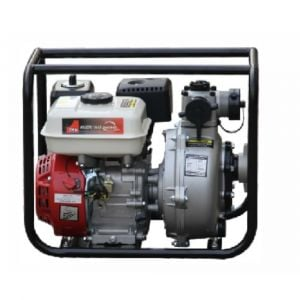 "Fire Fighting Water Transfer Pump 1.5"" Single Impeller 30,000L/hour High Flow 6.5HP Petrol Powered"
