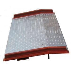 Steel Loading Ramp 6 Ton Capacity 1800 mm for shipping container, truck, forklift