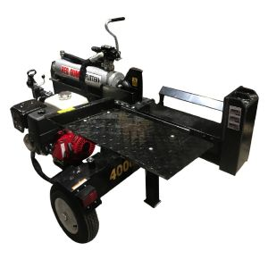 RedGum Log Splitter 40 Ton Petrol Powered 15 HP Engine Manual Start or Electric Start
