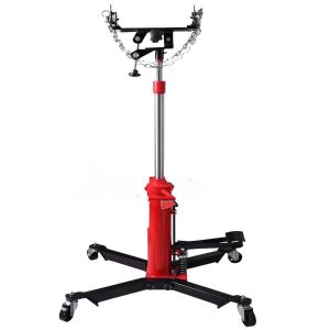 Transmission Jack 500 kg Gearbox 2 Stage Heavy Duty with Safety Chains