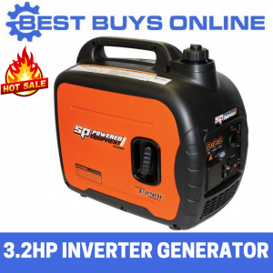 SP Tools Inverter Generator 2 kVA Portable Camping Quiet 3.2 HP