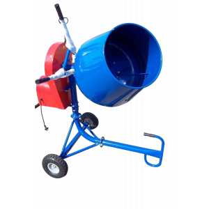 Concrete Cement Mixer 190 L Portable 4.5 CFM 650W