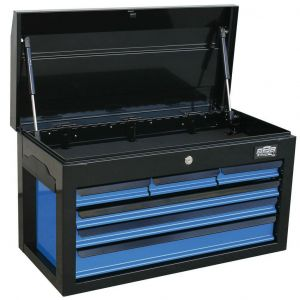 Tool Box 6 Drawers Chest Cabinet Tools/Garage Storage T840198 Black Toolbox