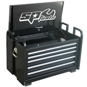Truck Tool Box SP40322 Offroad UTE Toolbox 7 Drawer Cabinet - Black