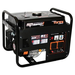 Portable Generator 2.8 kVA 2300 W Max Sine Wave Industrial SPG2800 6.5 HP Engine Petrol Powered