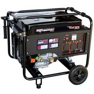 Petrol Generator Sine Wave 6.8 kVA 13 HP Electric start Portable Quiet SPG6800