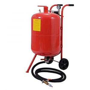 Portable Sandblasting 20 Gallon 75 Litre Tank Sandblaster Abrasive Cleaning Kit