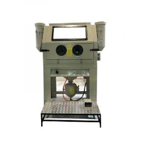 Sandblasting cabinet 990 Litre Sandblaster with Abrasive Tank, Foot pedal operated