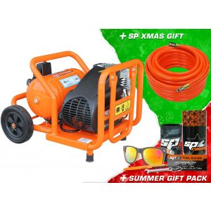SP Air Compressor - Trade Duty Portable Ute Pack - 2 HP Direct Drive SP11-12X