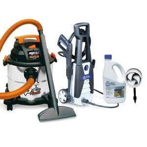 Wet Dry Vacuum Cleaner 20 L & Electric Pressure Washer 1740 PSI Cleaning Combo SP2020