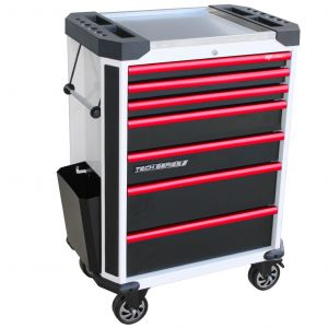 SP TOOLS TOOL BOX 7 CHEST / DRAWERS ROLLER CABINETS MECHANIC TOOL SET