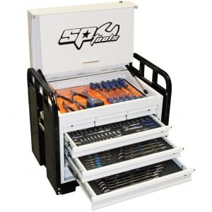 SP Tools Tool Box 7 Drawer 371 pieces Tool Kit Heavy Duty Thick Steel SP50215