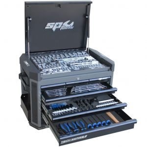 SP52255 SP Tools 251 pieces Metric/SAE Concept Series Tool Kit - Black
