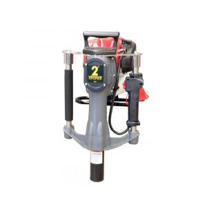 Petrol post driver star picket 2 inch powered by Honda engine