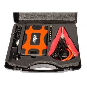 Jump Starter 1600A Peak 12V USB Li+ Power Bank Car Charger 28000mAh SP61073 Kit
