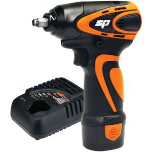 """Mini Impact Wrench 3/8"""" Max Drive 12V Lithium 2.0Ah Battery Pack SP Tools SP81113"""