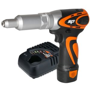 Riveter 12V Max Drive with battery charger Lithium-Ion 2.0Ah SP Industrial Cordless Tool Kit SP81371