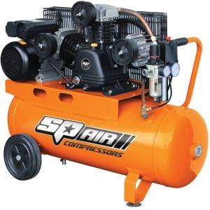 Air Compressor Portable 3HP SP Air Belt Drive 60L Tank Triple Cast Iron SP18