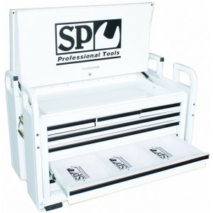 Toolbox UTE Steel Truck Tool Box 7 Drawers Heavy Duty SP40322 or SP40321 (Optional Colour - Black or White)