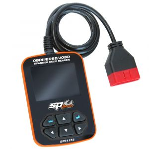 SP Scanner Code Reader Car Engine Scan Diagnostic OBDII/EOBD Compliant SP61155