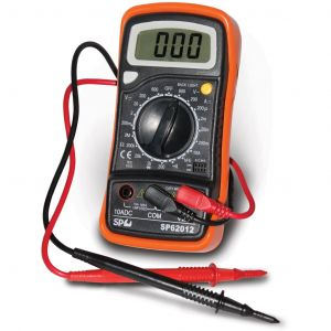 SP Digital Multimeter LCD Auto Electrical AC/DC Voltage Tester SP62012