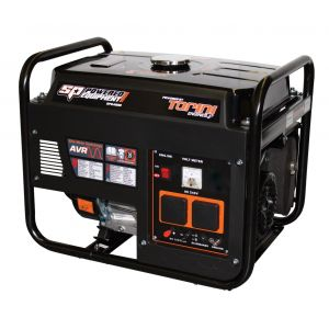 Petrol Generator 4 KVA Pure Sine Wave 7 HP Engine SP Industrial Portable Power SPG4000