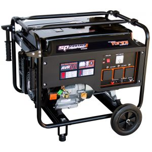 SP Tools Industrial Series Generator - 15 HP 8.1 kVA SPG8100E