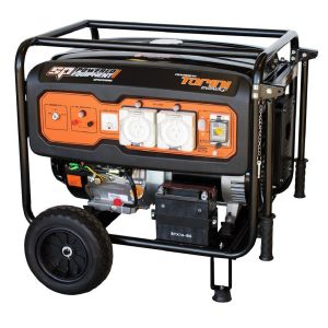 Petrol Generator 8.1 kva 6.5 KW Max 15HP Petrol Electric start Pure Sine Wave SPGC8100E
