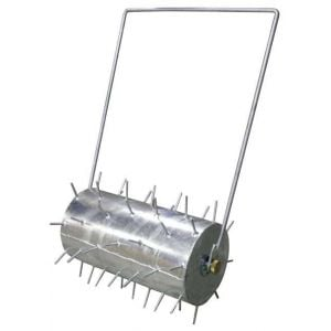 "Lawn Spike Roller 24"" 600mm Garden Grass Aeration Durable Galvanised"