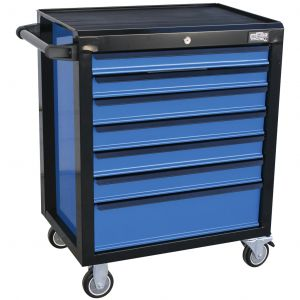 ROLLER CABINET 7 DRAWER - 888 Series by SP TOOLS EVOLUTION BLACK/BLUE T840199
