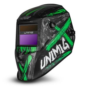 Welding Helmet Auto Darkening Unimig Toxic with  UMTWH True color Lens