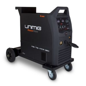 Unimig Razor 350 Mig Stick Tig Welder Multi Process 3in1 Welding Kit KUMJR350K-SG